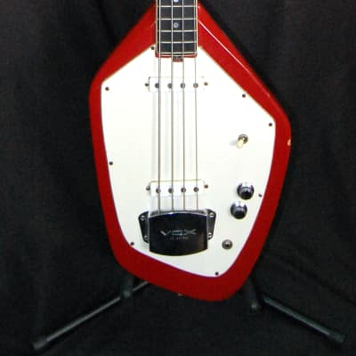 Vox Phantom 4-string Bass Guitar Red for sale