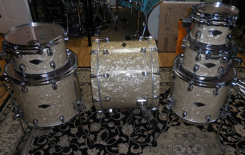 Tama Starclassic B/B Performer Birch Bubinga Drum Set 6 piece Shell Pack  hyper-drive sizes
