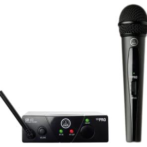 AKG WMS40 Mini Single Vocal Set Wireless Microphone System - Band D