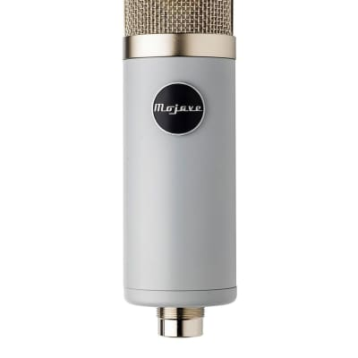 Mojave Audio MA-201Fet | Cardioid Condenser Microphone | Vintage Grey