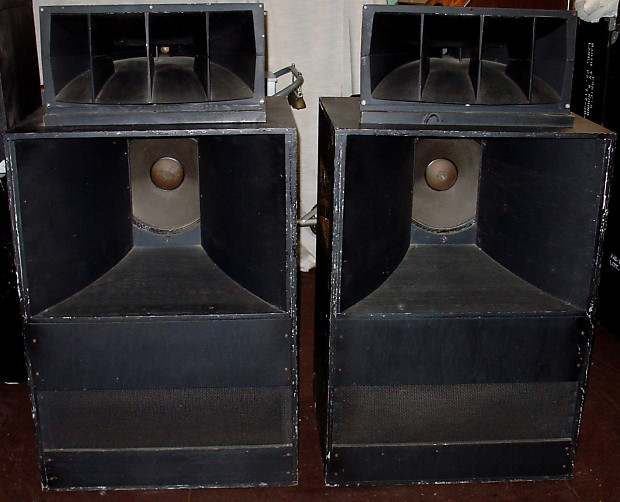 Altec Voice of the Theater A7 416-8A, 511B Horn 802-8D Driver, N501-8A  Crossover