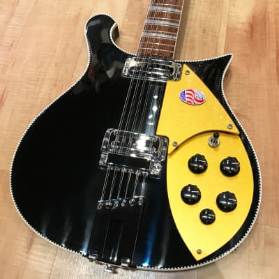 Rickenbacker 660/12 12-String Electric Guitar 2019 JetGlo for sale