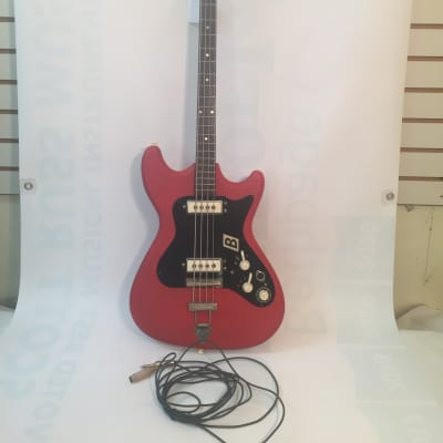 Klira Arkansas Model Bass Guitar-Rare-Made in Germany Early 1960's-Includes Case! for sale