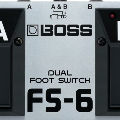 Boss FS-6 Dual Foot Switch Pedal-USED