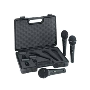 Behringer XM1800S Dynamic Microphones with Case (Set of 3)