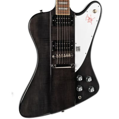 EPIPHONE SLASH SIGNATURE FIREBIRD LIMITED EDITION TRANS BLACK for sale