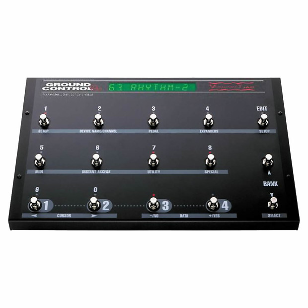 voodoo lab ground control pro midi foot controller reverb. Black Bedroom Furniture Sets. Home Design Ideas