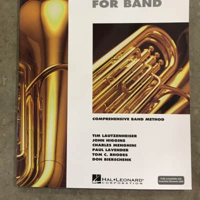 Hal Leonard Essential Elements for Band (or 2000) Tuba book 1