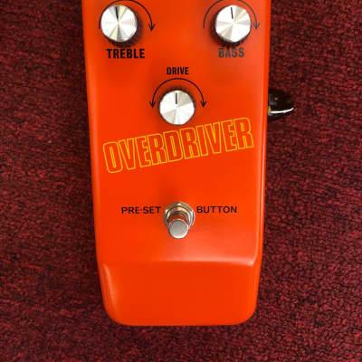 Colorsound Overdriver Limited Edition by Stu Castledine for sale