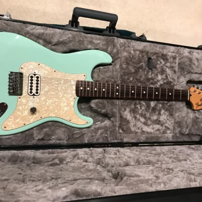Fender Tom Delonge Signature Startocaster 02-03 Seafoam Green for sale