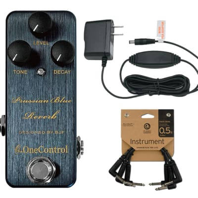 One Control Prussian Blue + Power Supply + Patch Cables for sale