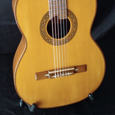 1960's Sanabria Mahogany and Spruce Classical Guitar