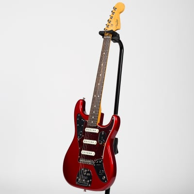 Fender Parallel Universe Limited Edition Jaguar Stratocaster - Rosewood, Candy Apple Red for sale