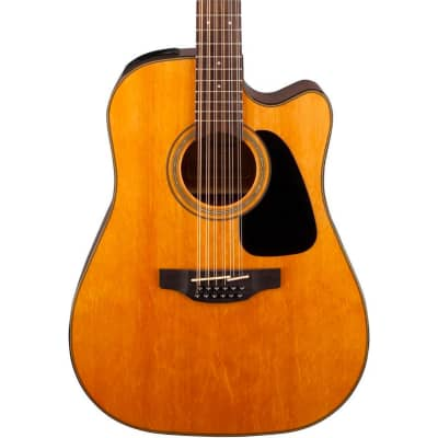 Takamine GD30CE-12 NAT G30 Series 12-String Dreadnought Cutaway Acoustic/Electric Guitar Natural Gloss