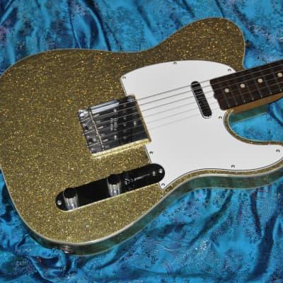 Fender Telecaster Custom '60 Reissue Closet Classic Custom Shop 2012 Gold Sparkle for sale