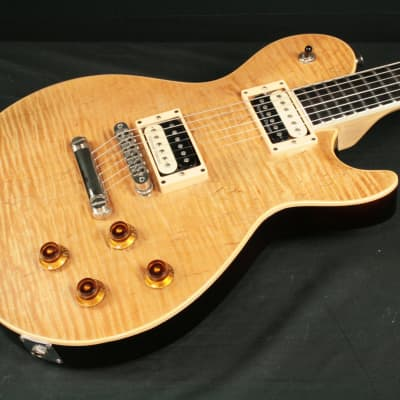 Nunis Custom built guitar for web gear pioneer PedalGeek 2005 Natural Flame Top for sale