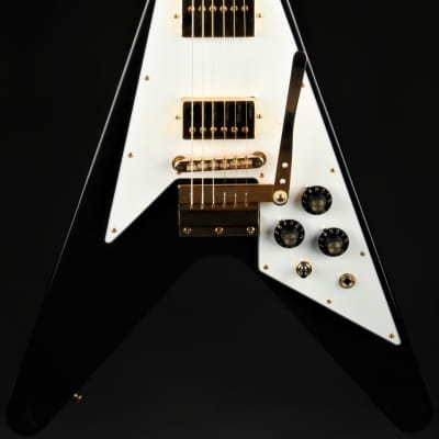 Gibson Custom Shop Limited Edition Jimi Hendrix 1969 Flying V Aged - Ebony #54 of 125