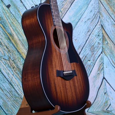 Taylor 362ce  2019 Natural Blackwood & Mahogany Shaded Edge Burst (add GS mini for $99) for sale