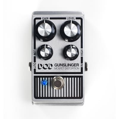 Digitech DOD Gunslinger Mosfet Metal Distortion Pedal for sale