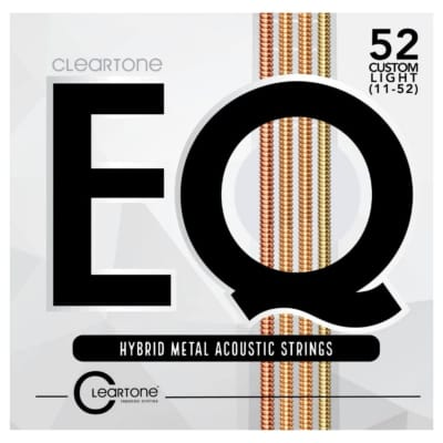 Cleartone Strings 7811 EQ Hybrid Metal Acousitc, Custom Light