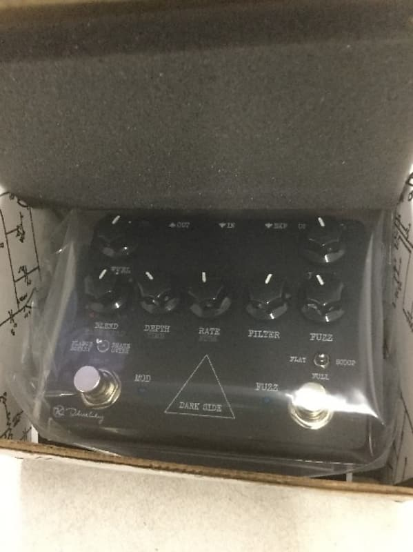 Keeley Electronics Dark Side V2 Fuzz//Mod Used FREE 2 DAY SHIP