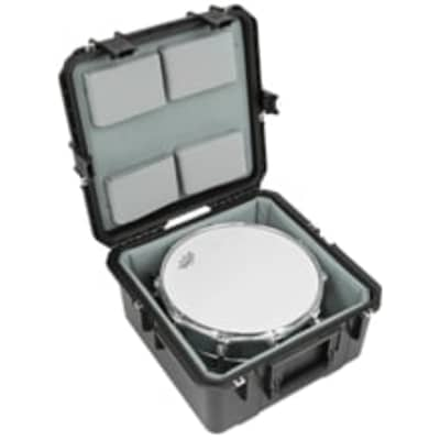 SKB - iSeries Single Snare Case w/padded liner and Nylex lined foam pads - 3i-1717-10LT