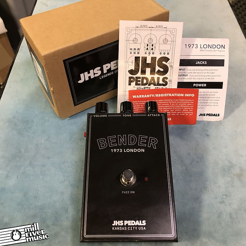 JHS Legends Series Bender Fuzz Effects Pedal w/ Box
