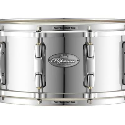 """Pearl Music City Custom 13""""x6.5"""" Reference Series Snare MIRROR CHROME RF1365S/C426"""