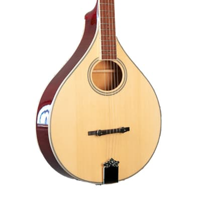 Gold Tone Banjola+ Solid Spruce Top Woodbody Banjo with Pickup & Hard Case