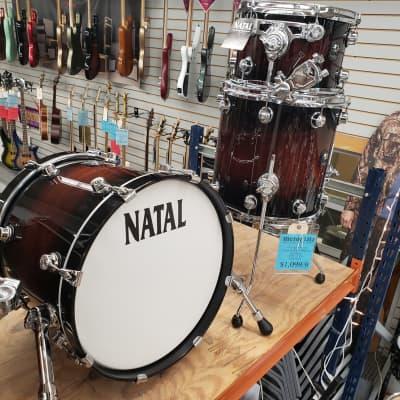 Natal 3 Piece Bop Kit 18/12/14 KTWTJEXO1  Exotic Burst Major Price Reduction