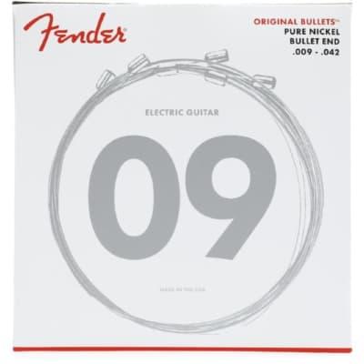 Fender 3150L Original Bullets Vintage Nickel Electric Guitar Strings - Light