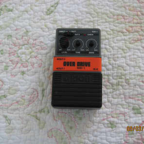 Arion SOD-1 Stereo Overdrive 80's Gray / Black for sale