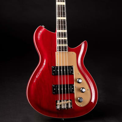 Rivolta COMBINATA BASS VII Chambered Mahogany Body Set Maple Neck 4-String Bass Guitar w/Soft Case for sale