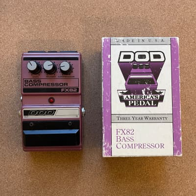 DOD FX-82 Bass Compressor (Made in USA)