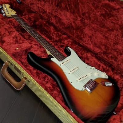 Fender American Deluxe Stratocaster 2007 Sunburst for sale
