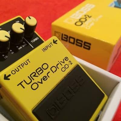 Boss OD-2 TURBO OverDrive