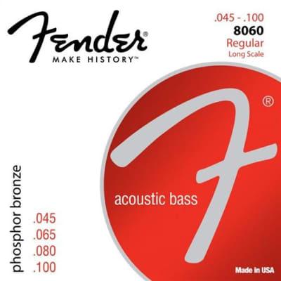 Fender Acoustic Bass Guitar Strings Phosphor Bronze