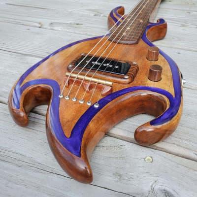 Lapsteelsbygeorge Cherry & Bocote Lap Steel Guitar