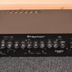 Traynor DynaBass 800H 800-Watt Bass Amp Head