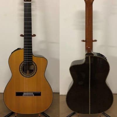 2018 Takamine Hirade TH5C Cutaway Classical with Cool Tube CTP-3 electronics for sale