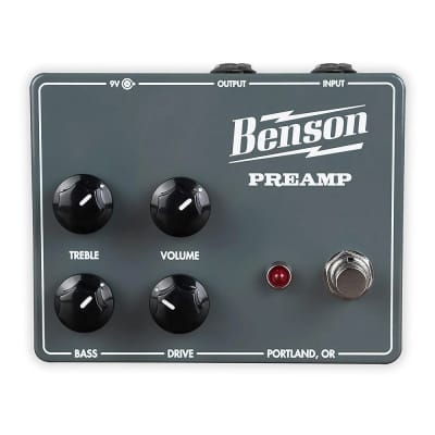 Benson Amps Chimera Preamp Guitar Effects Pedal *Free Shipping in the USA*
