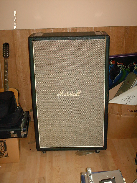 Marshall 2034 70 39 s 8x10 empty cabinet black and salt reverb for 8x10 kitchen cabinets