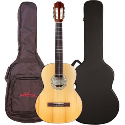 Kremona Soloist S62C Acoustic Guitar with Bag, ChromaCast Case Bundle for sale