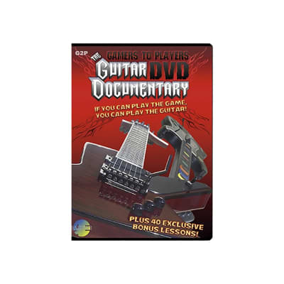 MJS Publications Gamers to Players The Guitar Documentary DVD