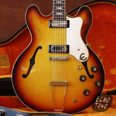 1967 Epiphone E360TD Riviera 12-String w OHSC for sale