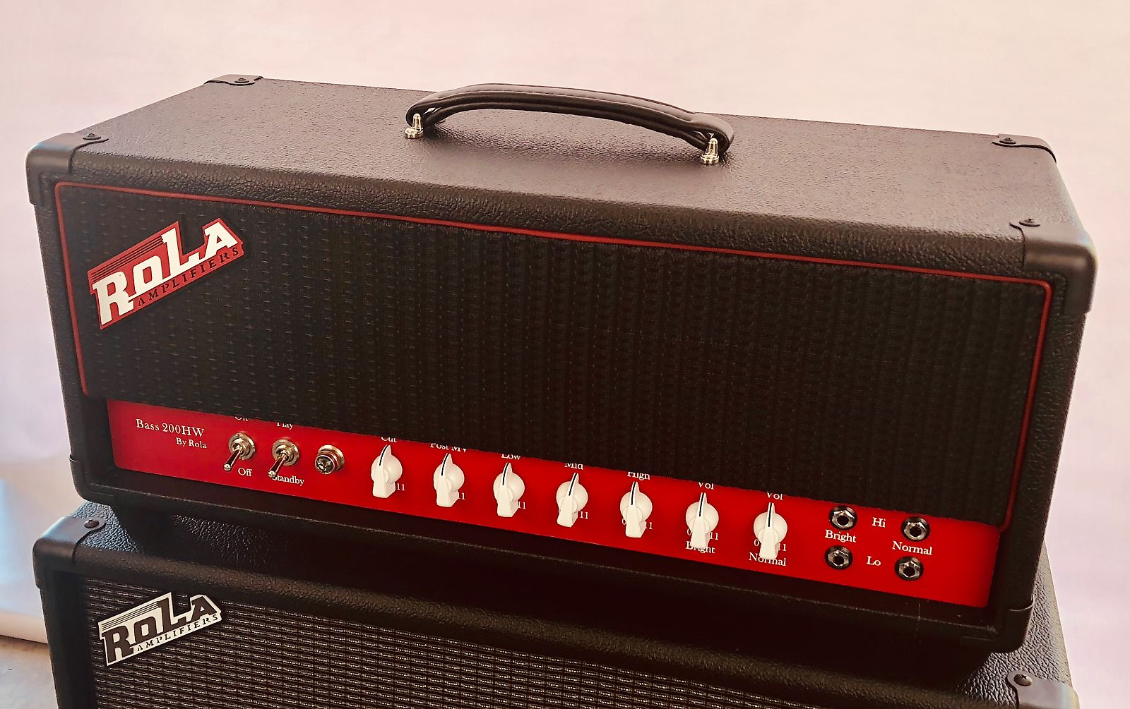 Rola Amplifiers, Bass 200HW, Hand wired in the USA