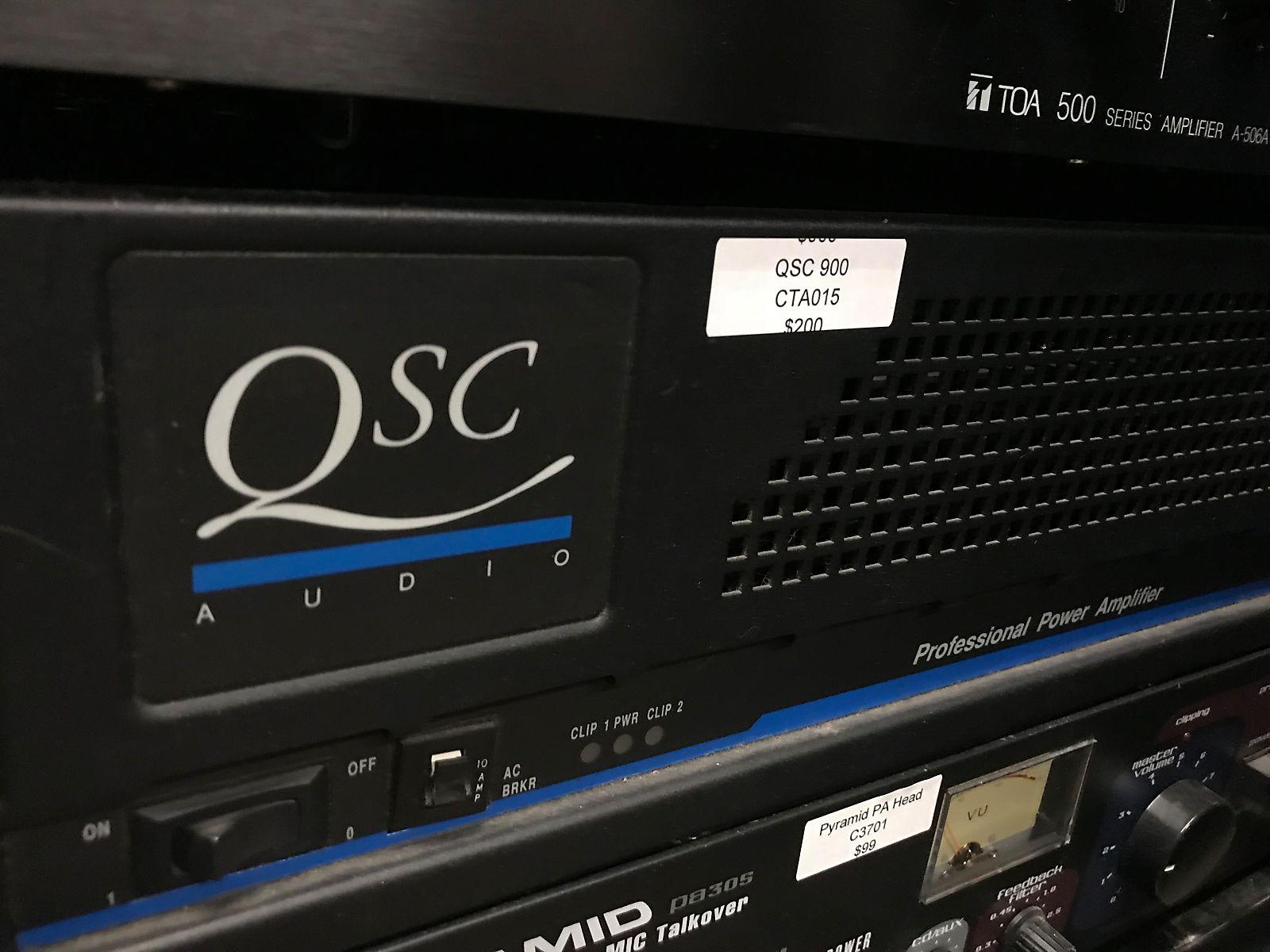 Rta016 Qsc 850 Power Amplifier Amplifiers