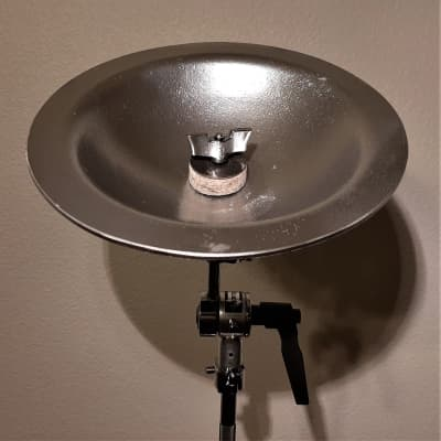 "9"" Sabian Custom Aluminum Bell - With Silver Matte Finish! Video Inside!"