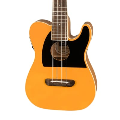 Fender Fullerton Tele Concert Uke - Butterscotch Blonde