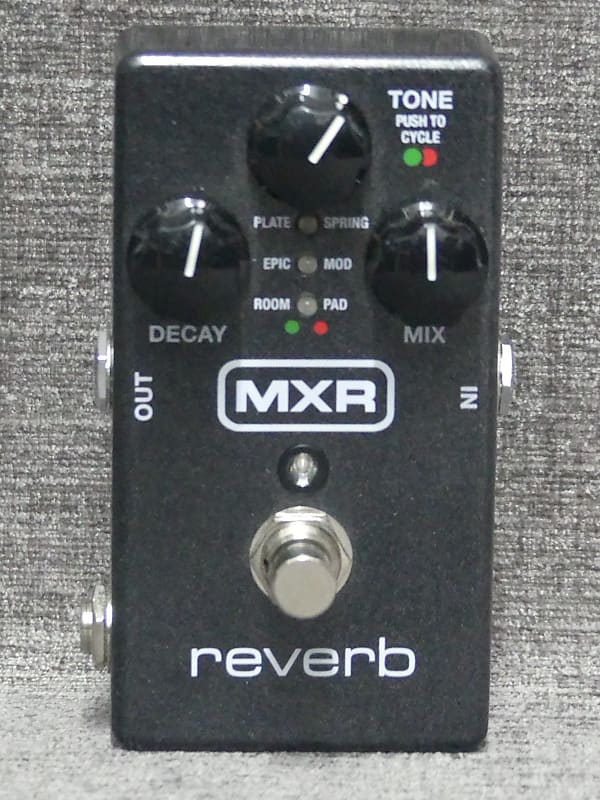 mxr m300 reverb effect pedal used reverb. Black Bedroom Furniture Sets. Home Design Ideas